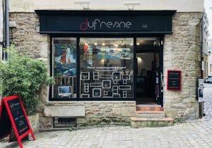 Facade de la boutique bijouterie à Vannes